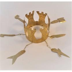 Corona metálica Shango