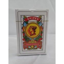 Juego de cartas española