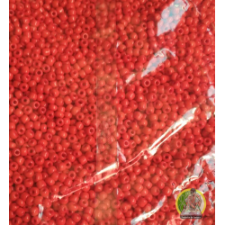 Cuentas color rojo