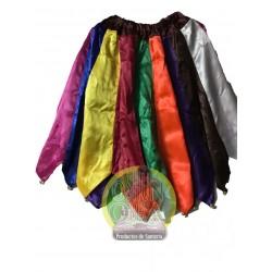 Falda de 9 colores con...