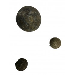 Bolas de hierro maciza