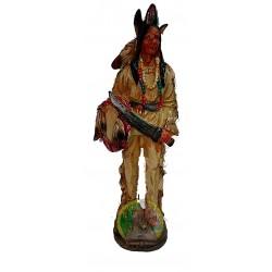 Figura indio vestido con...