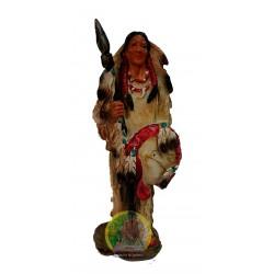Figura indio con lanza