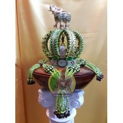 Corona decorada para Orula