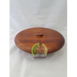 Batea de madera lisa