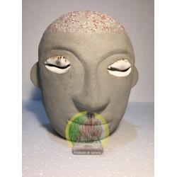 Buda de Eleggua de cemento