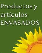 Productos y artículos envasados