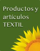 Productos y artículos textiles